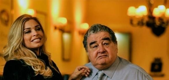 Luciane e Venturini em 'A Lei do Amor' (Divulgação/Globo)