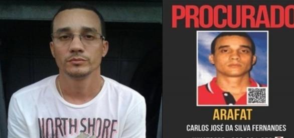 O homem que já estava sendo procurado pela polícia desde 2012 foi encontrado na região Central do Rio de Janeiro.