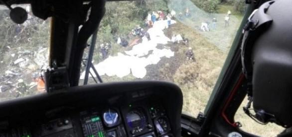 Último áudio do piloto com a torre de controle antes da queda