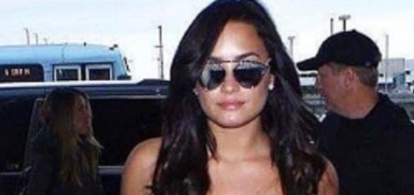 Demi Lovato já está em São Paulo (Foto: Reprodução/Instagram)