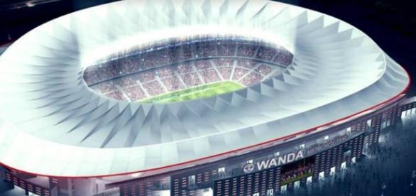 El futuro estadio Wanda Metropolitano. Foto: as.com