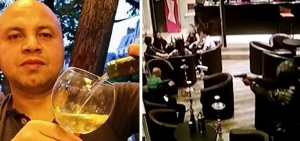 Empresário morreu em bar, após criminoso efetuar disparos contra ele.