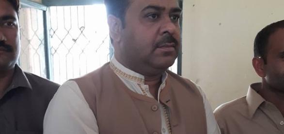 File photo of Hassan Tariq Awan taken by me