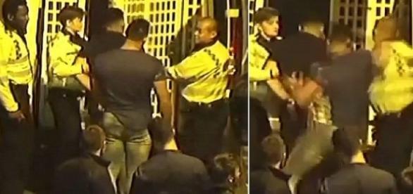 Rapaz agride oficial que transferia um detido e quebra sua mandíbula