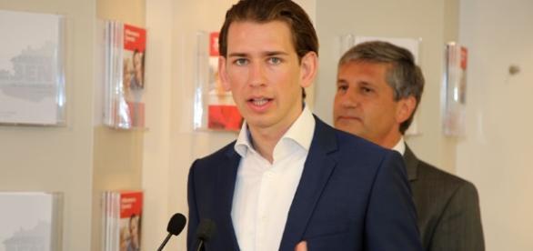 Sebastian Kurz, Ministro degli Esteri dell'Austria dal 2013. Credito: Franz Johann Morgenbesser | Flickr.