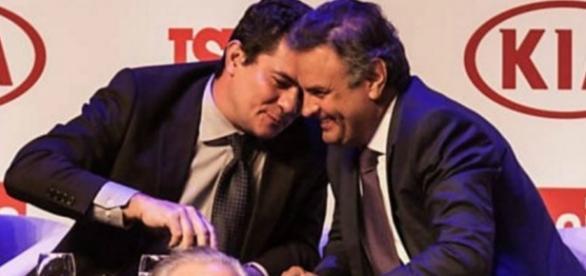 """Sérgio Moro diz que foto com Aécio foi """"infeliz"""""""