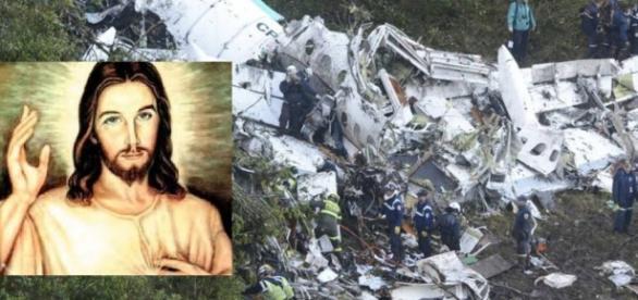 Tragédia da Chapecoense tem história religiosa - Imagem/Google