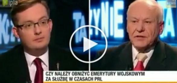 Winnicki masakruje byłego SB-ka na antenie Polsat News.