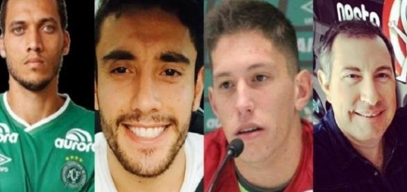 Alan Ruschel, Jackson Follmann e Rafael Henzel voltam ao Brasil nessa 2ª feira, 12