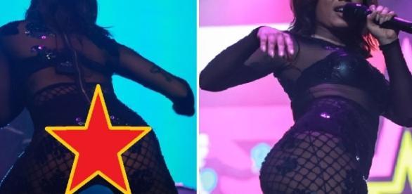 Anitta abusa da transparência em show - Imagem/Google