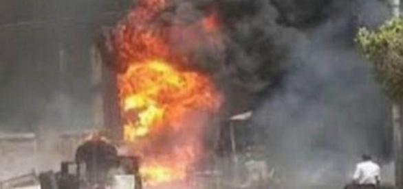 Atentat cu bombă la o catedrală ortodoxă din Cairo - Foto: TWITTER