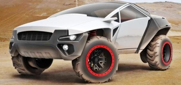 Cefalos é um veículo multifuncional, que pode ser usado como SUV ou picape cabine dupla