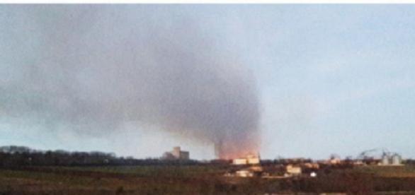 Deflagrație catrastrofală in bulgaria
