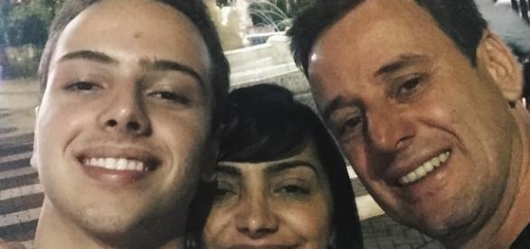Eyshila, o marido Odilon e o filho Lucas passarão a morar a capital paulista