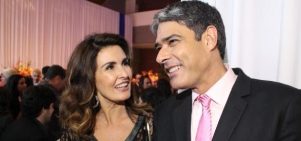 Fátima Bernardes fugiu ao enquete sobre relações