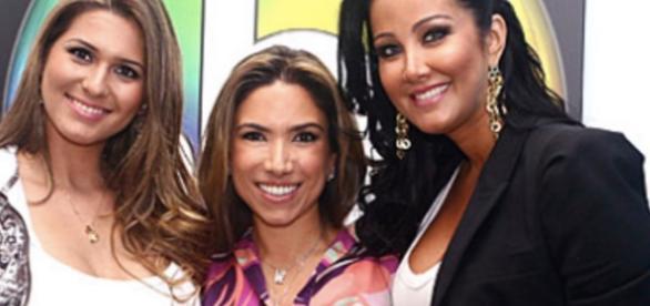 Lívia, Patrícia e Helen estão em polêmica - Imagem/SBT