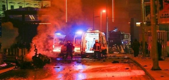 Momente de teroare în Istanbul