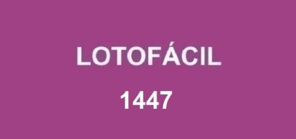 Resultado do sorteio Lotofácil 1447