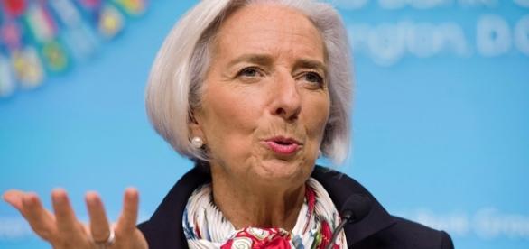 Christine Lagarde, directorul general al Fondului Monetar Internațional