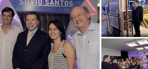 Depois de ser homenageado no Museu da Imagem e do Som, Silvio Santos fez um agradecimento emocionado