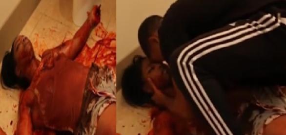 Garota finge assassinato e quase mata namorado de susto - Imagem/Youtube