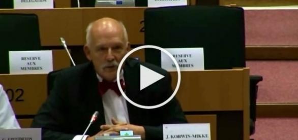Janusz Korwin-Mikke w mocnych słowach o USA i Syrii.
