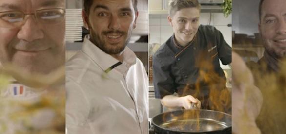 Les quatre candidats de L'amour food programmeTv.fr