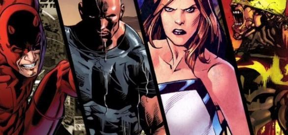 Proximos proyectos de Netflix y Marvel | •Comics• Amino - aminoapps.com