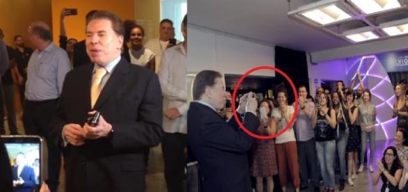 Silvio Santos vai à exposição - Google