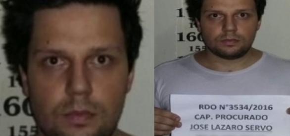 Thiago Servo em foto na prisão - Google