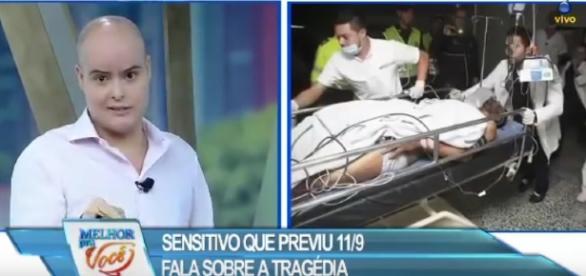 Vidente que previu atentado de 11 de setembro alertas sobre novas tragédias (Divulgação/Rede TV)