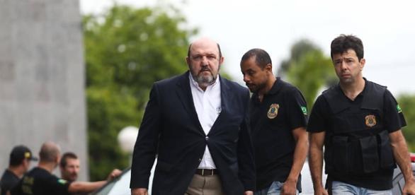 Foto da operação Lava Jato que investiga um forte esquema de corrupção