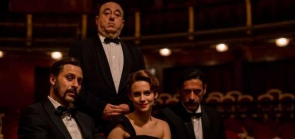 Fotografía del rodaje de la tercera temporada de 'El Ministerio del Tiempo'/Tve1