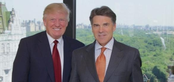 Donald Trump selects Rick Perry for top cabinet position, CBS News ...