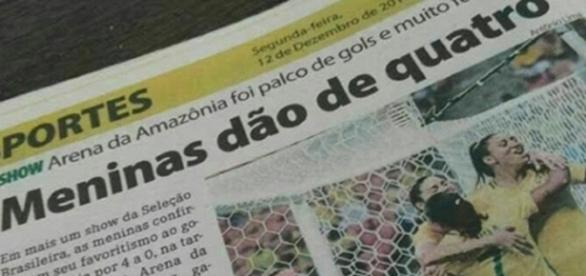 Jornal é acusado de machismo ao publicar manchete