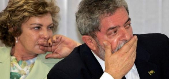 Lula e Marisa foram indiciados pela PF (Foto: Reprodução)