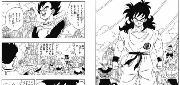 Manga sobre Yamcha y su nuevo poder