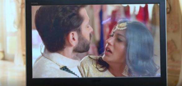 Shivaay and Anika (Surbhi chandna) Ishqbaaaz (Youtube screen grab)