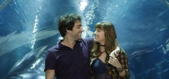 Tiago e Isabela em 'A Lei do Amor' (Divulgação/Globo)