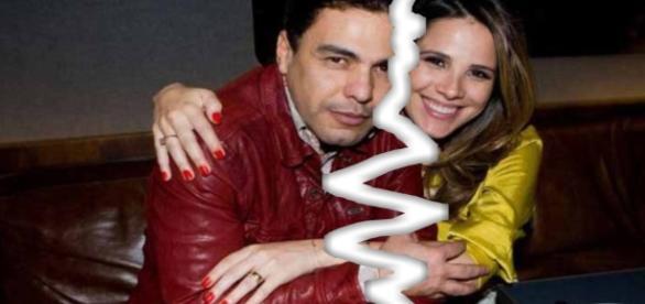 Zezé Di Camargo confirmou que não está mais conversando com a filha