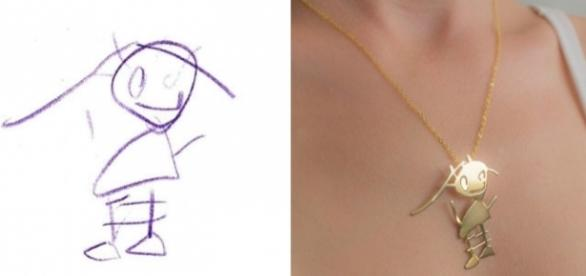 Artista transforma desenhos feitos por crianças em obra de arte