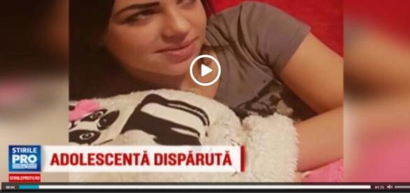 Ea este minora de 14 ani dispărută de acasă