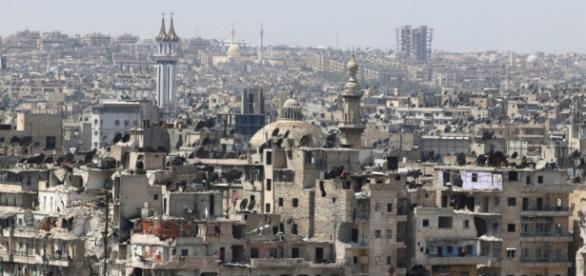 Einst die Handelsmetropole Syriens, heute ein Steinhaufen: Aleppo. (Fotoverantw./URG Suisse: Blasting.News Archiv)
