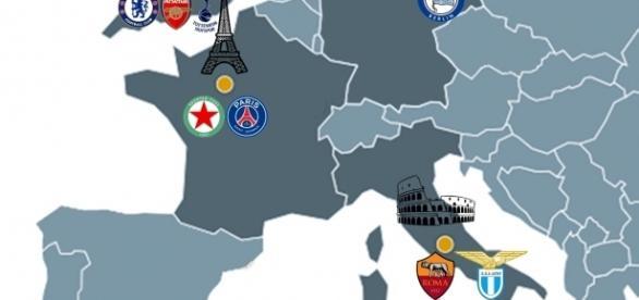 El fútbol en las capitales europeas
