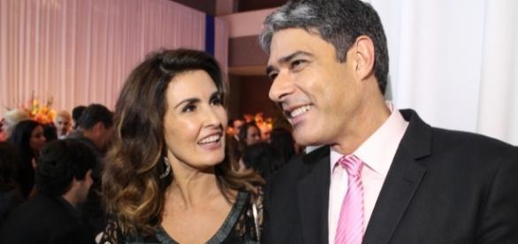 O casal de jornalistas se separou em agosto