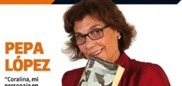 Pepa López, entrevistada en la revista Tele Todo por su personaje de Coralina en 'Merlí.