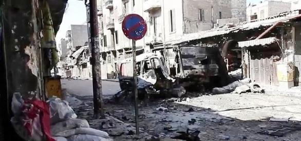 Cidade de Aleppo clama por socorro
