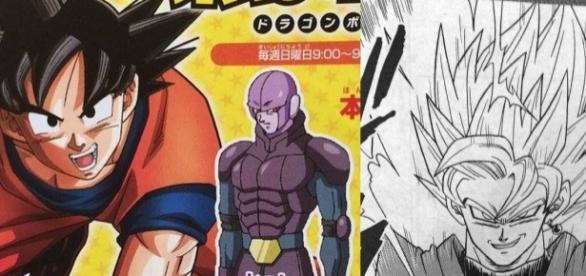 Dragon Ball Super- Black Goku Super Saiyajin 2 y no SSJ Rose.