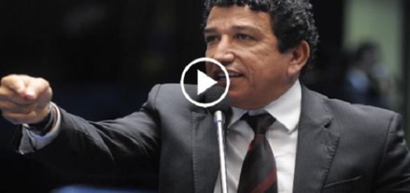 Magno Malta é contra o projeto de lei do abuso de autoridade Imagem: Reprodução/Youtube
