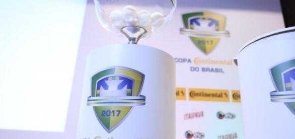 Os confrontos da 1ª fase da edição 2017 da Copa do Brasil foram definidos em sorteio. (Foto: Divulgação CBF)